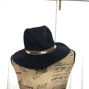 Black Boho Festival Hat